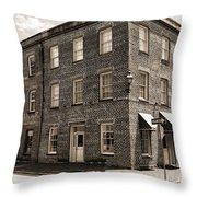 Savannah Building Throw Pillow