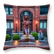 Savannah Cotton Exchange Savannah Georgia Throw Pillow