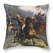 Savannah: Pulaski, 1779 Throw Pillow