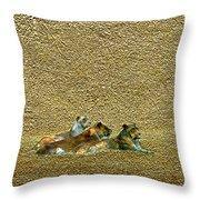 Savannah Queens Throw Pillow