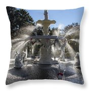 Savannah Winter Dream Throw Pillow