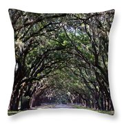 Savannah Wormsloe  Throw Pillow