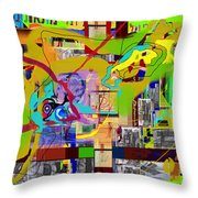Save Me From Loving Money 4h Throw Pillow