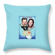 Save The Date Throw Pillow