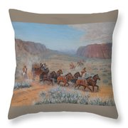 Saving The Nigh Leader Throw Pillow