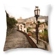 Savoca Italy Throw Pillow