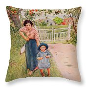 Say A Nice How Do You Do To Your Uncle Throw Pillow