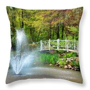 Sayen Garden Impression Throw Pillow