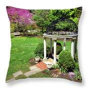 Sayen Garden Spring Throw Pillow