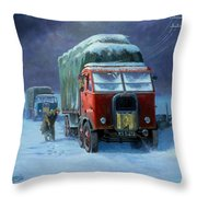 Scammell R8 Throw Pillow by Mike  Jeffries
