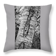 Scabs N Scars Throw Pillow
