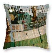Scarborough Sailing Throw Pillow