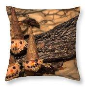 Scarecrow Cupcakes Throw Pillow