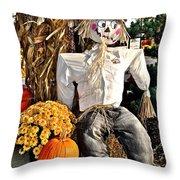 Scarecrow Throw Pillow