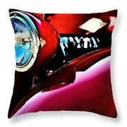 Mercury Coupe Throw Pillow