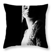 Scars Are Souvenirs You Never Lose Throw Pillow