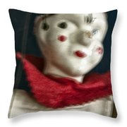 Scary Mary Throw Pillow