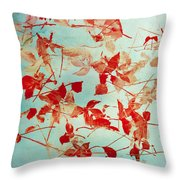 Scattered Impressions Throw Pillow