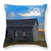 Scene From The Past Throw Pillow