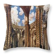 Scenery Design For The Betrothal Throw Pillow