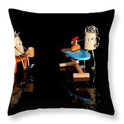 Scenes From A Marriage Throw Pillow