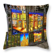 Scenes Of Nola Throw Pillow