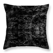Scenic And Twisted Throw Pillow