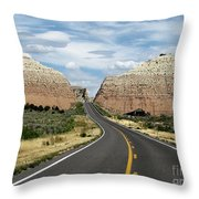 Utah's Scenic Byway 12 - An All American Road Throw Pillow