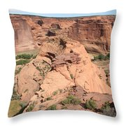 Scenic Canyon De Chelly  Throw Pillow
