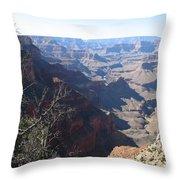 Scenic Grand Canyon Throw Pillow