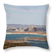 Scenic Lake Powell Throw Pillow