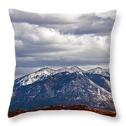 Scenic Moutains Throw Pillow