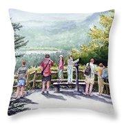 Scenic Overlook Throw Pillow