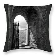 Scenic Portal 1 Throw Pillow