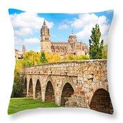 Scenic Salamanca Throw Pillow