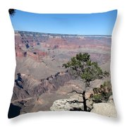 Scenic View - Grand Canyon Throw Pillow