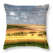 Scenic Wiltshire Throw Pillow
