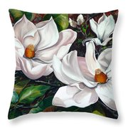 Scent Of The South. Throw Pillow