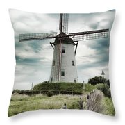 Schellemolen Windmill Throw Pillow