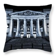 Schermerhorn Symphony Center Throw Pillow by Dan Sproul