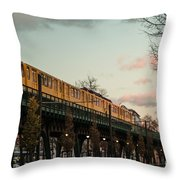 Schoenhauser Allee Berlin Throw Pillow