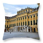 Schonnbrun Vienna Austria Throw Pillow