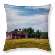 School Is Out For Summer Throw Pillow