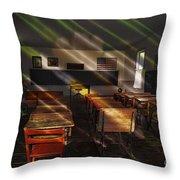 School - Old School Charm  Throw Pillow