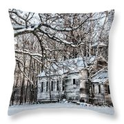 School Out Forever Throw Pillow