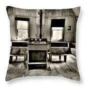 School Room Throw Pillow