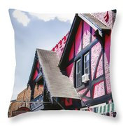 Schroon Lake Shops Throw Pillow