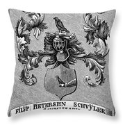 Schuyler Family Arms Throw Pillow