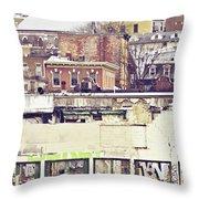 Schuylkill Scenery Throw Pillow