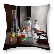 Science - Chemist - Chemistry Equipment  Throw Pillow
